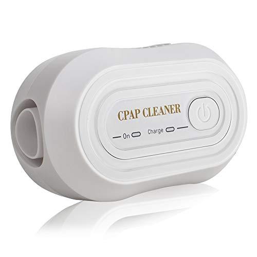 Funwill Tragbare Mini-CPAP-Reiniger, Der Neueste CPAP-Geräte-Reiniger/Sterilisator für CPAP-Beatmungsgeräte, Gesichtsmasken, Atemschläuche, Zubehör (Weiß)