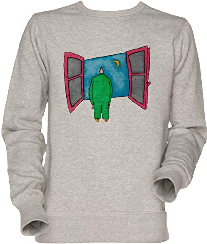 Vendax Herzog Herren Unisex Herren Damen Jumper Sweatshirt Grau Men's Women's Jumper Grey
