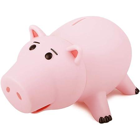 Pink Piggy SINOWE Cute Coin Piggy Bank for Kids Plactic Piggy Bank Decorative Sleeping Animal On The Sofa Shaped Coin Saving Jar Fun Birthday Festival Gifts