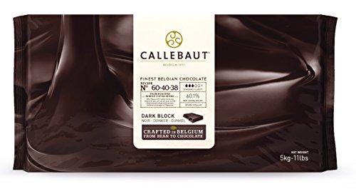 Callebaut 60,1% Blocco di Cioccolato Fondente (confezione) 5kg