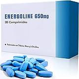 Energoline 650 [20 tabletas] | Potenciador de energía natural | Enriquecido con Tribulus Terrestris, Maca y L- Citrulina | Seguro y Certificado