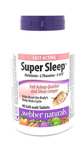 Webber Naturals Super Sleep (90 Tablets), 90 Count