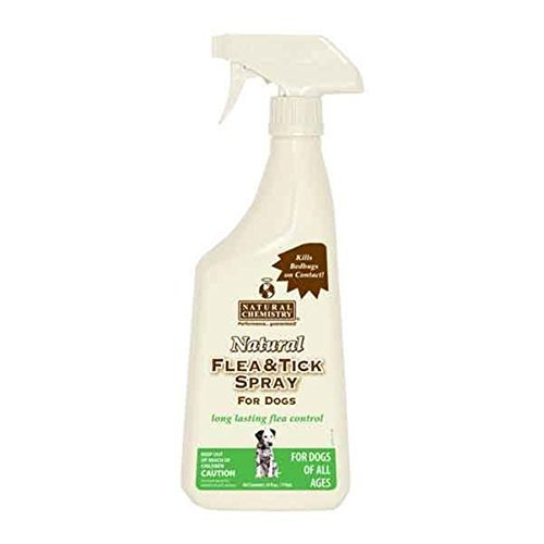 Natural Flea & Tick Spray for Dogs 24oz (2 Pack)