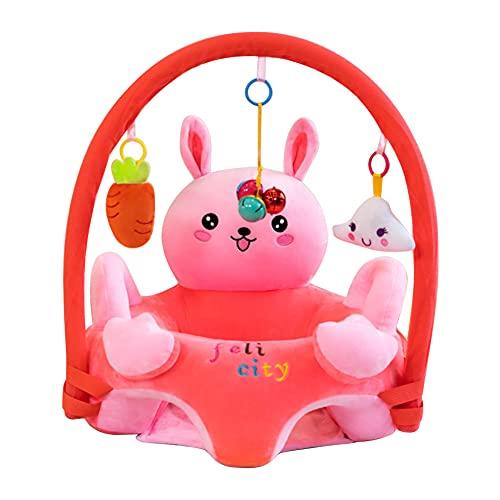 Domybest Poltroncina per Bambini Senza Riempitivo Imparare a Sedersi Poltrona per Bambini Peluche Carino Fodera Sedia Divano per Bambini Senza Cotone Supporto Divano per Bambini Peluche Fai da te