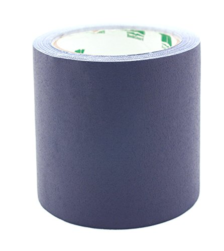 BookGuard 4 inch Premium Cloth Bookbinding Repair Tape, 15 Yard Roll, Navy Blue
