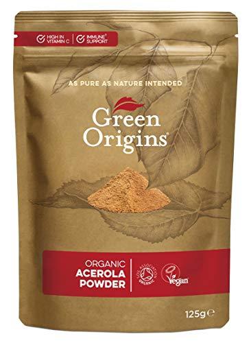 Green Origins Organic Acerola Powder, Raw 125g