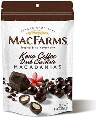 Kona Coffee Dark Chocolate Macadamia Nuts product image