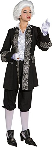 Orlob Damen Kostüm Zubehör Barock Jacke Karneval Fasching Gr.44