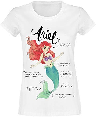 Arielle, die Meerjungfrau Arielle Frauen T-Shirt weiß S