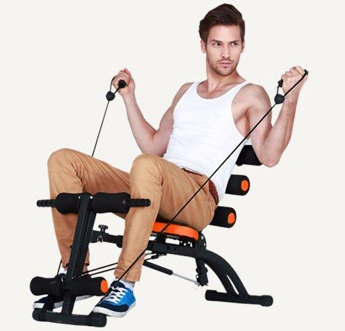 Broadakin Bauchmuskelstuhl, Fitnessstudio, 6 Stück