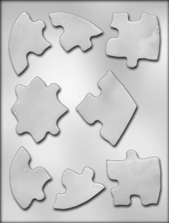 CK Products Heart Puzzle Chocolate Mold