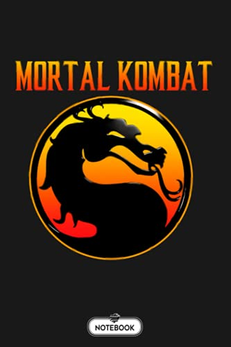 Mortal Kombat Logo Sub Zero Notebook: Perfect Gift For Dad, Grandpa, Uncle, Mom, Grandma, Girl, Boy Journal, Notebook Gift Hunting Lovers, 110 Lined Pages, 6x9 Inch Format