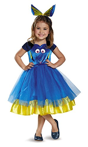 Dory Toddler Tutu Deluxe Finding Dory Disney/Pixar Costume, Small/2T