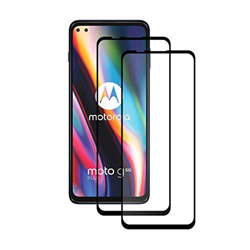 FEIAO Protector Pantalla Motorola Moto G 5G Plus ,Cristal Templado Motorola Moto G 5G Plus,Motorola Moto G 5G Plus Protectores de pantalla para móviles,2 Piezas