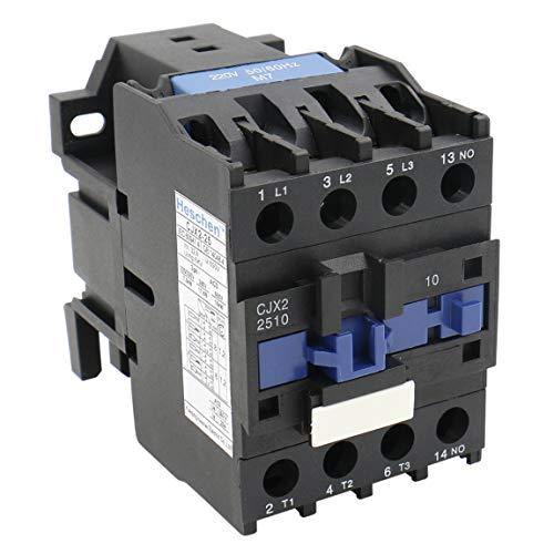 Heschen AC Contactor CJX2-2510 bobina de 220V 50/60Hz...