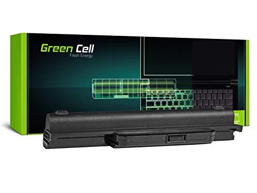 Green Cell® Batería para ASUS K53, K53E, K53S, K53SJ, K53SV, K53U, X53S, X53, X53S, X53U, X53SV, X53U, X53U, X54, X54C, X54F, X54H, X54L (9 Celdas, 6600 mAh, 11,1 V) Negro.