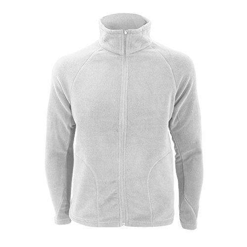 Result Micron Fleece Blouson De Sport, Blanc (White), Large Homme