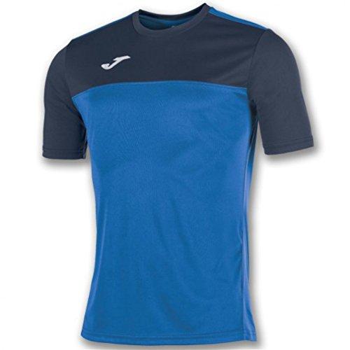 Joma Winner Camisetas Equip. M/c, Hombre, Royal/Marino, L