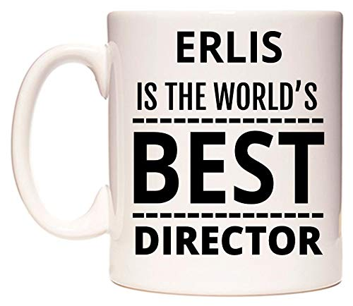 ERLIS Is The World's BEST Director Tazza di WeDoMugs
