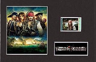 Pirates Of The Caribbean On Stranger Tides Monterad film cell stil display 6 x 4 (inramad)