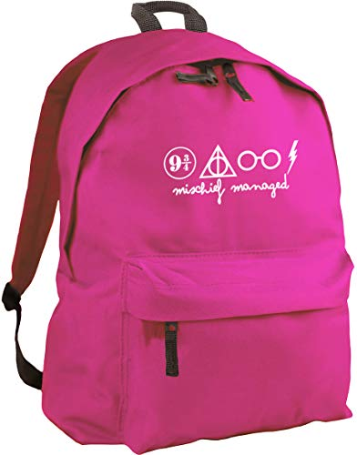HippoWarehouse Mischief Managed backpack ruck sack Dimensions: 31 x 42 x 21 cm Capacity: 18 litres