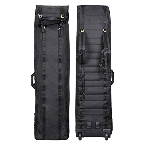AMAIRS Snowboard Bag, Ski Equipment Bag with Wheels Foldable Adjustable Size Waterproof Snowboard and Duffel Bags Are Suitable for Road and Air Travel