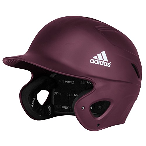adidas S98293 Matte Phenom Batting Helmet, Maroon, Large/X-Large