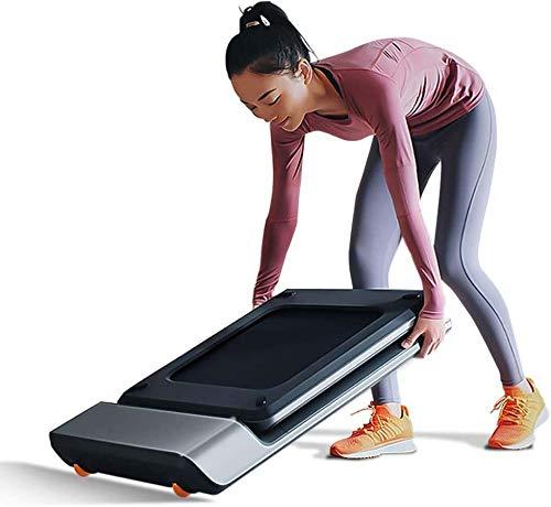 ZouYongKang Faltband-Laufband, Mini-Laufband, intelligente Geschwindigkeitsregelung, installierterfrei, unter Schreibtisch-Laufband für Home/Büro-Gymnastik Cardio-Fitness