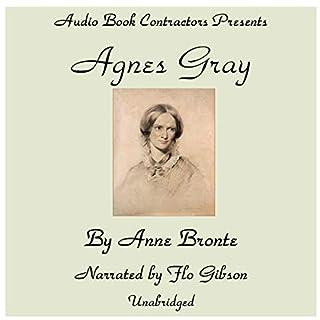 Agnes Gray audiobook cover art