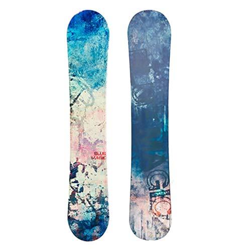 Rodel Ski Long Ski Furnieraußen Skiausrüstung for Erwachsene Ski Furnier Damen Ski Snowboard (Color : Blue, Size : 153cm/60.2 inches)