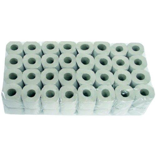 Toilettenpapier Krepp 1-lagig 64 Rollen à 400 Blatt Recyclingpapier