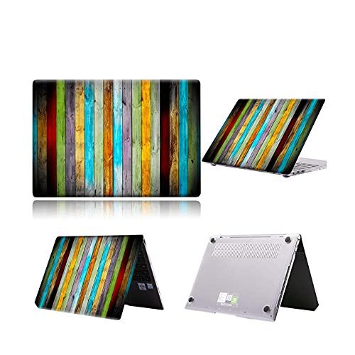 Funda rígida para Huawei MateBook D15/D14/MateBook 14 2021/X Pro 14'/MateBook 13/14/MateBook X 2020 Print Notebook Shell Cover - 23.Multi Color Wood-MateBook 13 AMD Ryze
