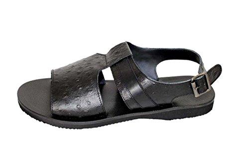 Baldinini Schuhe Herrenschuhe Sandalen Shoe 6679 schwarz Gr.39