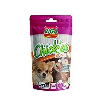 Riga Chick'os Bone's Biscuit pour Chien 80g