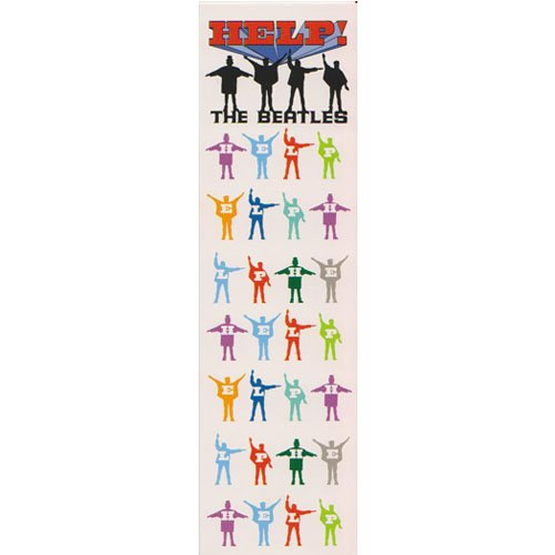 Beatles - Bookmark Help (in One Size)