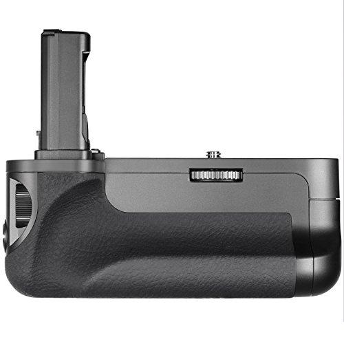 Neewer Vertikaler Batteriegriff (Ersatz für VG-C1EM) für Sony Alpha A7 A7R A7S DSLR Kameras Kompatibel mit NP-FW50 Batterie (Batterie nicht enthalten)