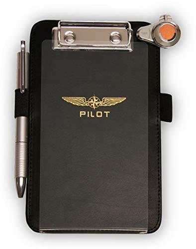 Design4Pilots - Cosciale   Pilot Kneeboard  Piccolo  A6, black