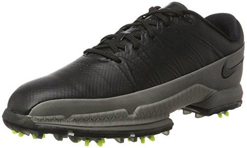 Nike Nike Herren Air Zoom Attack Golfschuhe, Mehrfarbig (Black/Volt/cool Grey), 45 EU