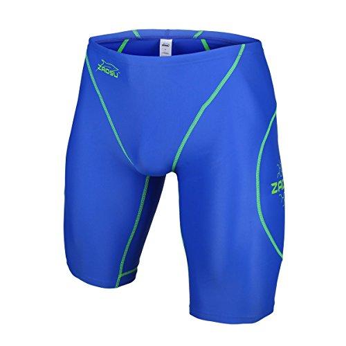 ZAOSU Wettkampf-Schwimmhose Z-Blue - Jammer für Jungen und Herren, Größe:140