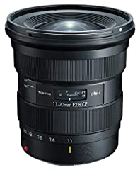 Max focal length: 20.0 millimeters New modern and comfortable design for better handling New coating providing oimproved reslution and efficient flare management Ultra-wide angle focal with constant F2.8 aperture Constant size whatever the focal and ...