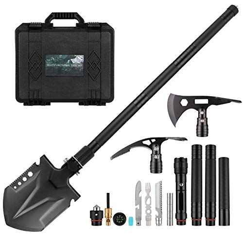 Survival Shovel Multitool with A...