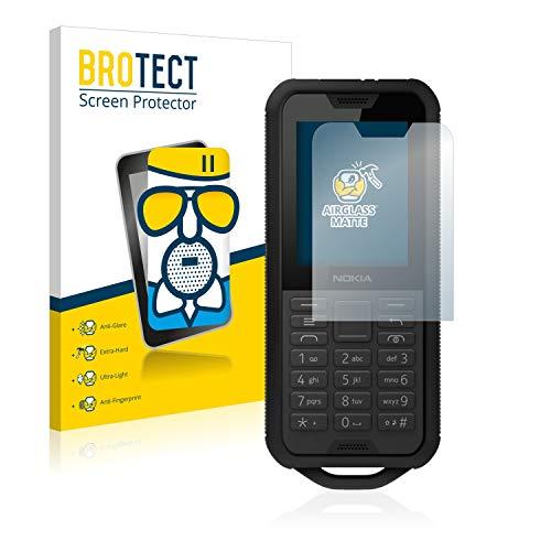 BROTECT Entspiegelungs-Panzerglasfolie kompatibel mit Nokia 800 Tough - Anti-Reflex Panzerglas Schutz-Folie Matt