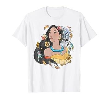 Disney Pocahontas Dreamcatcher Watercolor Graphic T-Shirt