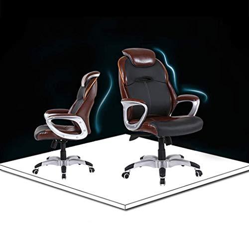 N/Z Tägliche Gerätestühle Home Office Drehstuhl Comfort Executive Drehstuhl Computerstuhl Komfort Ergonomisches Design für Lordosenstütze B.