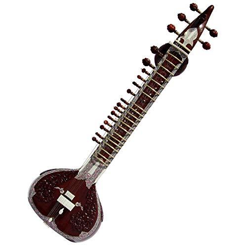 MUSICALS Peacock Sitar - Ravi Shankar Style - Angur Patta Design - Bulk/Wholesale auch erhältlich