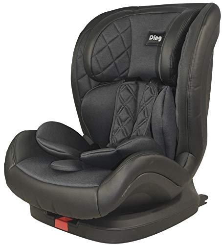 Ding Space YB709A Kindersitz mit Isofix und Ruheposition 9-36kg Gruppe 1/2/3, ECE R44/04 Prüfsiegel, schwarz