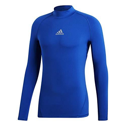 adidas Alphaskin Longsleeve Warm Camiseta De Compresión, Hombre, Bold Blue, M