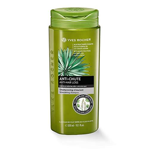 Yves Rocher PFLANZENPFLEGE HAARE kräftigendes Shampoo, Haar-Shampoo gegen Haarausfall, kräftigt & stärkt, 1 x Flacon 300 ml