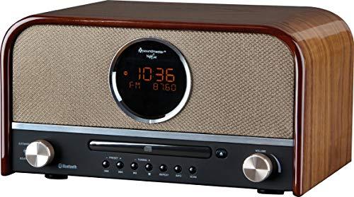 Soundmaster NR 850 Nostalgie Stereo DAB+ USB Radio mit CD und Bluetooth