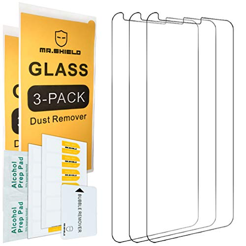 [3-PACK]-Mr.Shield Designed For LG Stylo 5 [Tempered Glass] Screen Protector with Lifetime Replacement